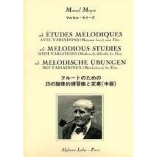 ALPHONSE LEDUC: MOYSE. M - 50 MELODIC STUDIES