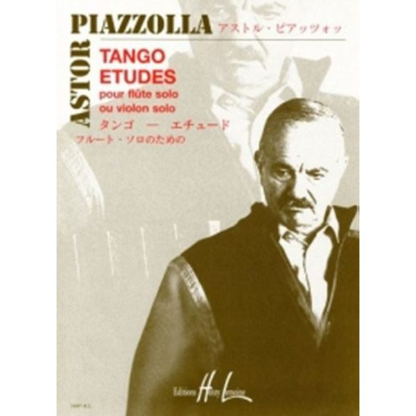 EDITIONS HENRY LEMOINE: PIAZZOLLA. A - TANGO STUDES