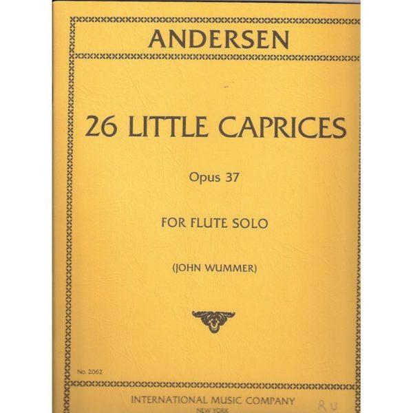 IMC: ANDERSEN - 26 LITTLE CAPRICES OP.37