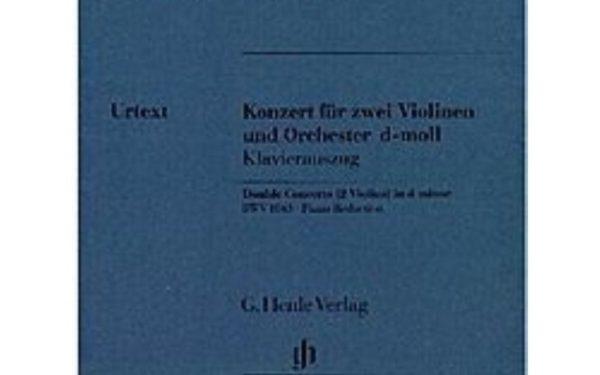 HENLE VERLAG: BACH J. S. - DOUBLE CONCERTO IN D MINOR BWV 1043