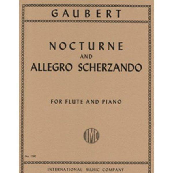 IMC: GAUBERT NOCTURNE AND ALLEGRO SCHERZANDO.