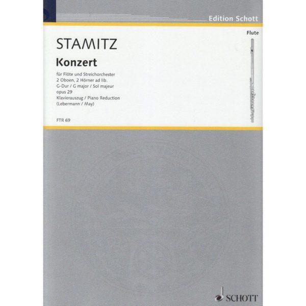 SCHOTT: C. STAMITZ - CONCERTO IN G MAJOR